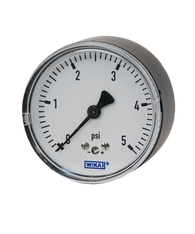 WIKA Type 611.10 Low Pressure Gauge 0-100 in H2O 9851879