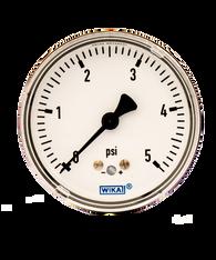 WIKA Type 611.10 Low Pressure Gauge 0-5 PSI 9851844