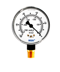 WIKA Type 611.10 Low Pressure Gauge 0-100 in H2O Vacuum 9747473