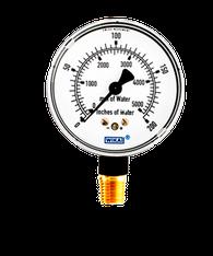 WIKA Type 611.10 Low Pressure Gauge 0-200IWP 9851828
