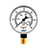 WIKA Type 611.10 Low Pressure Gauge 0-60 oz per sq in 9851755