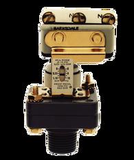 Barksdale Series E1S Dia-Seal Piston Pressure Switch, Stripped, Single Setpoint, 0.5 to 15 PSI, E1S-F15-PLS