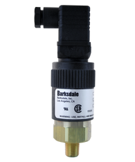 Barksdale Series 96201 Compact Pressure Switch, Single Setpoint, 1 to 30 PSI, T96221-BB1-T2