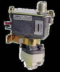 Barksdale Series C9612 Sealed Piston Pressure Switch, Housed, Single Setpoint, 125 to 1500 PSI, TC9612-2-CS