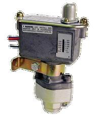 Barksdale Series C9612 Sealed Piston Pressure Switch, Housed, Single Setpoint, 125 to 1500 PSI, TC9612-2-V