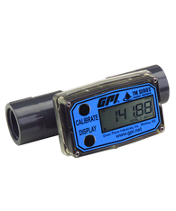 "GPI Flomec 3/4"" NPTF PVC Water Meter With Local Display, 2 to 20 GPM, TM075-N"