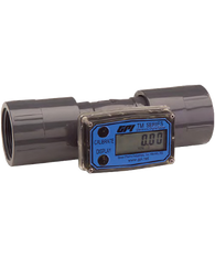"""GPI Flomec 1 1/2"""" NPTF Pulse Output With Display Water Meter, 10-100 GPM, TM150NLP"""