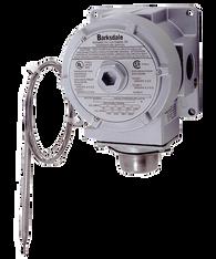 Barksdale TXR Series Explosion Proof Temperature Switch, Dual Setpoint, 25 F to 325 F, TXR-L2S-10R2-Q10