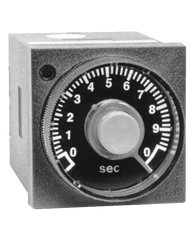 ATC 409B Series 1/16 DIN Adjustable Push Button Timer, 409B-100-E-2-X