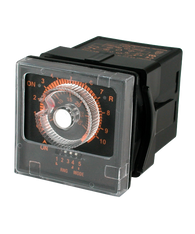 ATC 405AE Series 1/16 DIN Adjustable Analog Timer, 405AE-11024-S
