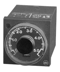 ATC 407C Series 1/16 DIN Adjustable Multimode Timer, 407C-100-F-3-X