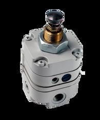 "Bellofram Type 10 PL Plunger Operated Precision Regulator, 1/8"" NPT, 2-25 PSI, 960-019-000"