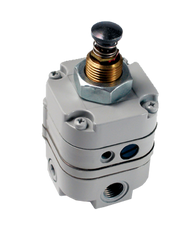 "Bellofram Type 10 PL Plunger Operated Precision Regulator, 1/4"" NPT, 2-25 PSI, 960-020-000"