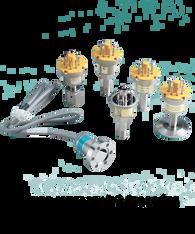 Teledyne Hastings Vacuum Gauge Tube, 0 to 100 mTorr, DV-5M