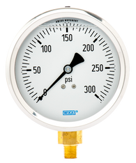 WIKA Type 213.53 Utility Pressure Gauge 0-300 PSI 9699142