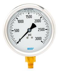 WIKA Type 213.53 Utility Pressure Gauge 0-3000 PSI 9699215