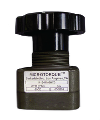 Barksdale Series 518 Microtorque Valve 51861S6HM3-E-P