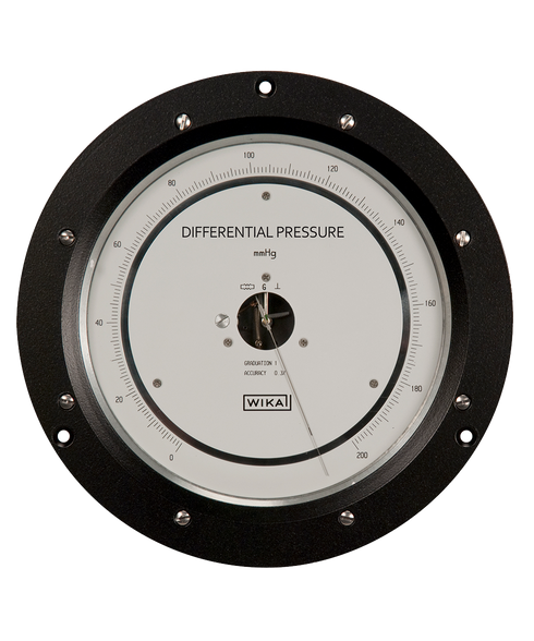 Precision Pressure Gauges : Wika high precision differential pressure gauge series