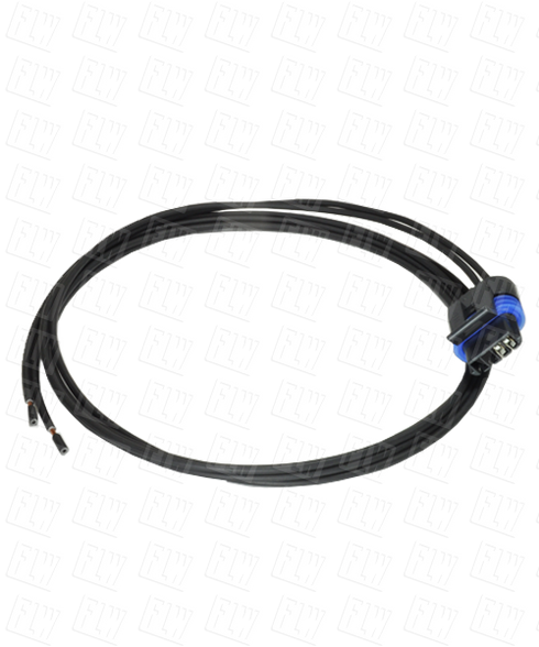 AI-Tek Compatible 2 Pin Connector / 3 Foot Cable CA79860-26-003