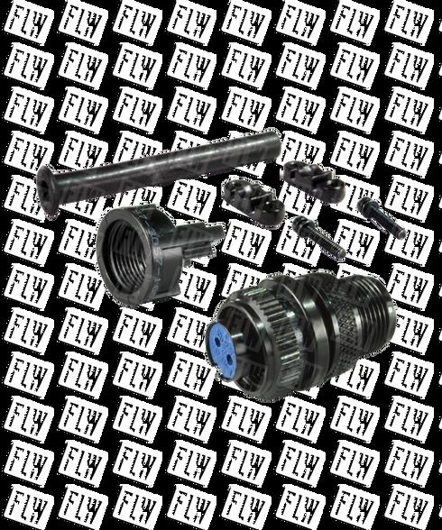 AI-Tek Compatible Straight 2 Socket Connector CN79860-3100