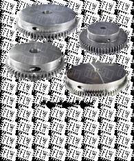 AI-Tek 4 in. Diameter Split Gear G79870-202-1800