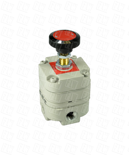 "Bellofram Type 10 Precision Pressure Regulator, 1/8"" NPT, 2-25 PSI, 960-001-000"
