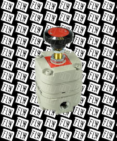 "Bellofram Type 10 Precision Pressure Regulator, 3/8"" NPT, 2-60 PSI, 960-011-000"