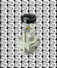 "Bellofram Type 40 Adjustable Regulator, 1/4"" NPT, 0-120 PSI, 960-066-000"