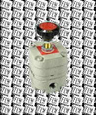 "Bellofram Type 10 EXHR Extra High Relief Capacity Precision Regulator, 3/8"" NPT, 2-120 PSI, 960-074-000"