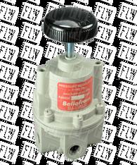 "Bellofram Type 70 BP High Flow Back Pressure Air Regulator, 1/4"" NPT, 0-60 PSI, 960-200-000"