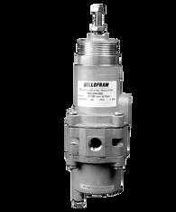 """Bellofram Type 51 SSFR Stainless Steel Filter-Regulator, 1/4"""" NPT, 0-30 PSI, 960-242-000"""