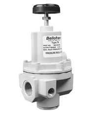 "Bellofram Type 78 High Flow Regulator, 1/2"" NPT, 0-125 PSI, 960-335-000"