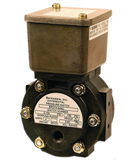 Barksdale Series EPD1H Differential Pressure Switch, Housed, Single Setpoint, 0.3 to 3 PSI, EPD1H-BB40
