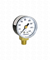 Ashcroft Type 1005 Commercial Pressure Gauge 0-160 PSI 20-W-1005-H-01L-160#