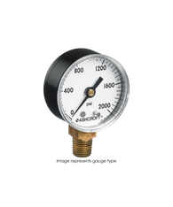 Ashcroft Type 1005 Commercial Pressure Gauge 0-30 PSI 20-W-1005-H-01L-30#