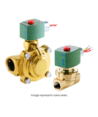 ASCO Hot Water And Steam Valve 8220G027 120/60AC