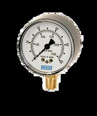 WIKA Type 611.10 Low Pressure Gauge 0-200IWP 9851887