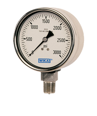 WIKAType 233.30 Bourdon Tube Pressure Gauge 0-300 PSI-NACE 52016978