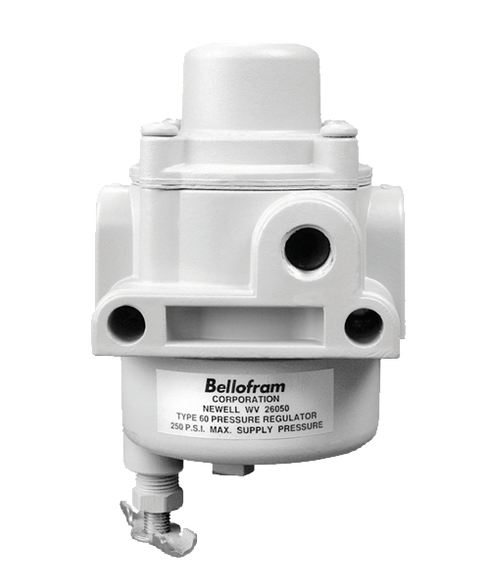 "Bellofram Factory Preset Type 65 Regulator, 1/4"" NPT, 40-60 PSI, 960-151-000"