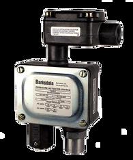 Barksdale Series 9048 Sealed Piston Pressure Switch, Housed, Single Setpoint, 350 to 5000 PSI, T9048-5-V-Z1