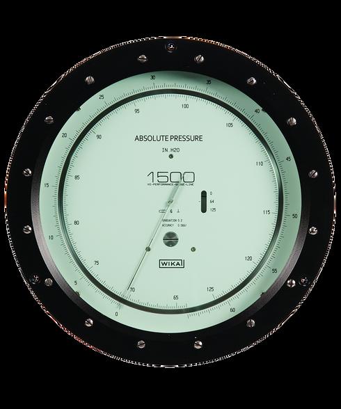 Precision Pressure Gauges : Wika high precision absolute pressure gauge series