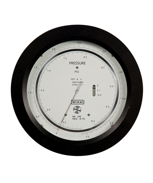Precision Pressure Gauges : Wika high precision pressure gauge series g flw inc