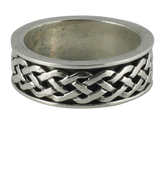 Sterling Silver Celtic Knot Band