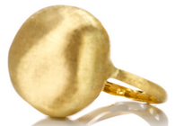 Marco Bicego Africa Cocktail Ring in 18kt Hand-engraved Gold