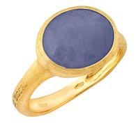 Marco Bicego 18K Gold Blue Sapphire Siviglia Ring