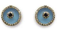 Aaron Basha Blue Topaz Evil Eye.