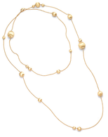 "Marco Bicego Africa Gold 48"" Necklace in 18kt Gold"