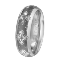 Scott Kay Devotion Wedding Band Dark Detail