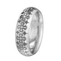 Scott Kay Devotion Wedding Band Light Detail