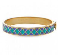 HALCYON DAYS AGAMA TURQUOISE, BLUE & GOLD